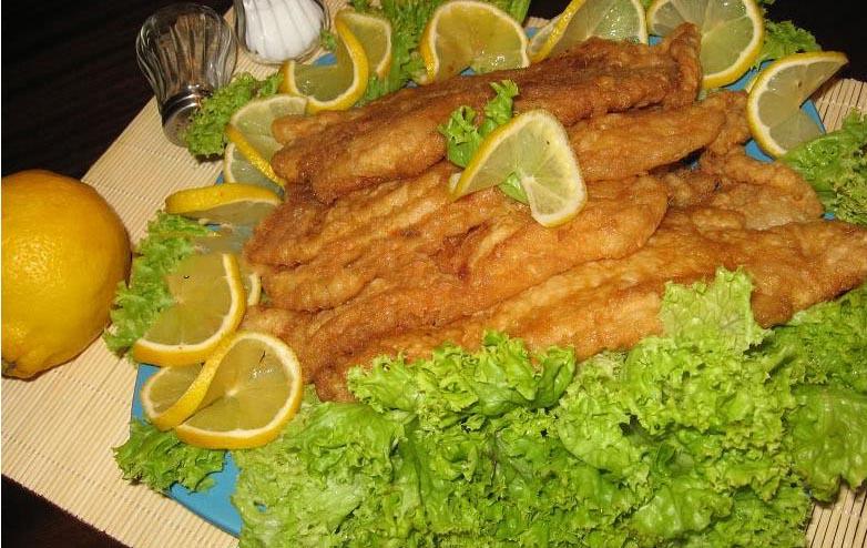 file da pangasius pane pe pat de salata